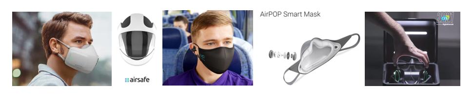 Lg Puri Care Seguro Airsafe Mask Fone Air Pop Smart Mask Razr Project Hazel Ces 2021
