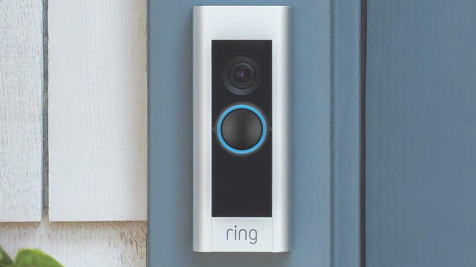 Boost your home security with a Ring video doorbell.