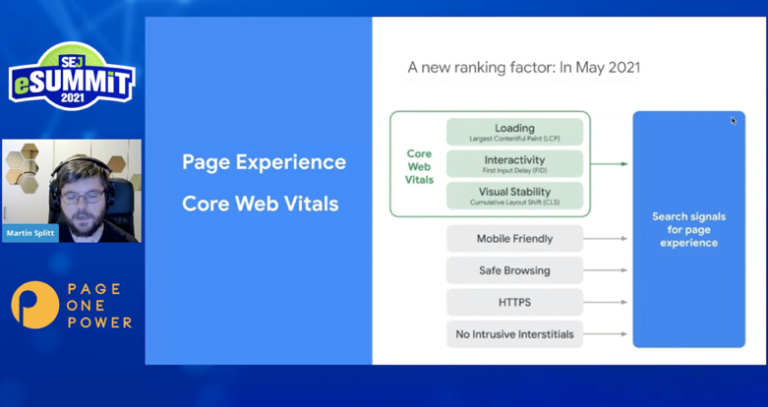 Martin shows you what to test and how to measure for page experience performance.