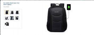 Backpack by Fur Jaden: Hard Case